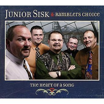 Junior Sisk & Vandrelaug valg - midt i en sang [CD] USA import