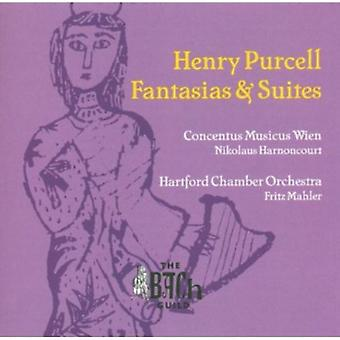 H. Purcell - Henry Purcell: Fantasias & Suites [CD] USA import