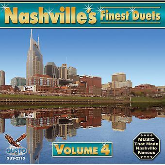 Nashvilles fineste duetter - Vol. 4-Nashvilles fineste duetter [CD] USA importerer