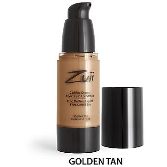 Zuii Organic Base Líquida Golden Tan (Beauty , Make-up , Face , Bases)