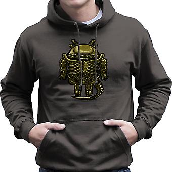 Droilien Alien Android Men's Hooded Sweatshirt