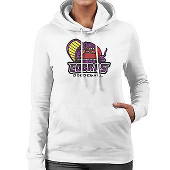 Purple Champs Globo Gym Purple Cobras Dodgeball Women's Hooded Sweatshirt
