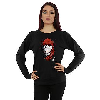 Marvel Women's Elektra Face of Death Sweatshirt