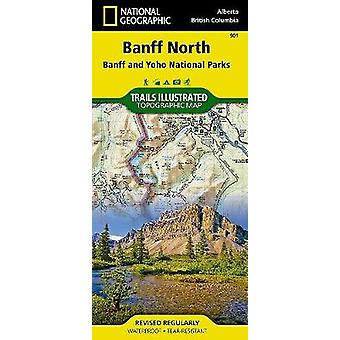 Banff North by National Geographic Maps