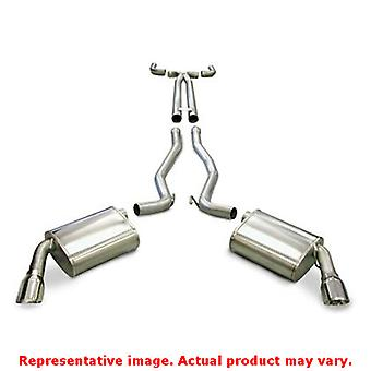 CORSA Performance Cat Back Exhaust 14952 Polished Fits:CHEVROLET 2010 - 2010 CA