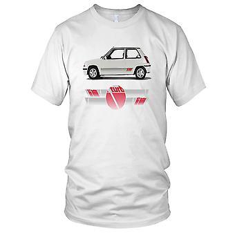 Renault 5 GT Turbo Mens T skjorte