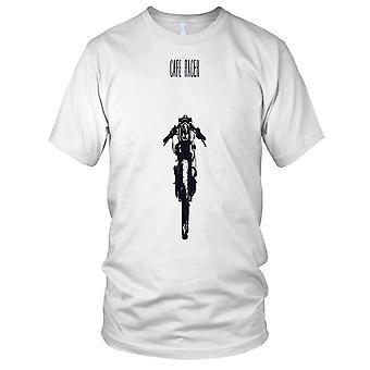 Cafe Racer Bobber Motorcycle Motorbike Custom Biker Ladies T Shirt