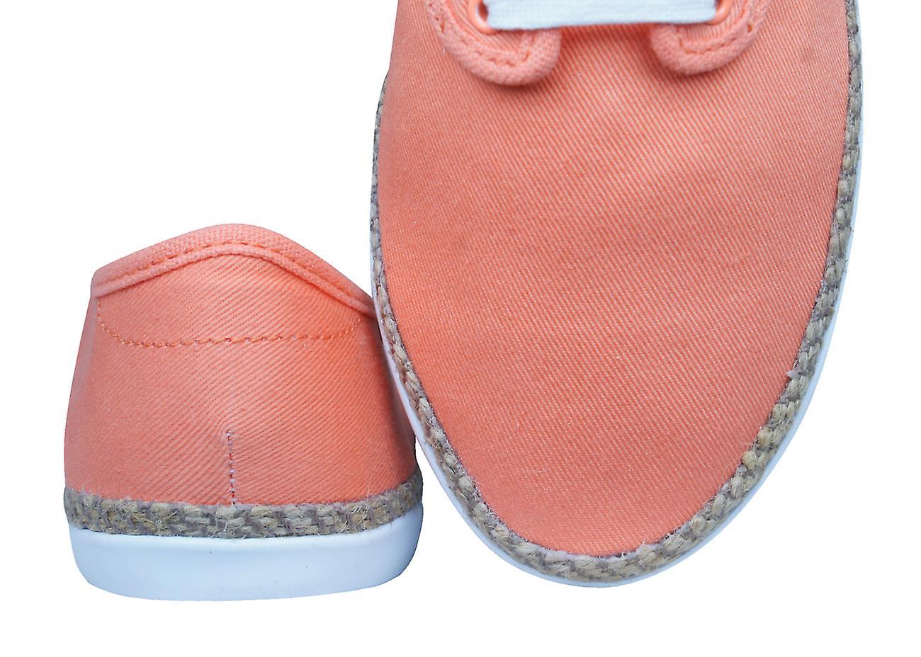 adidas Originals Adria PS Espadrile Womens Trainers / Shoes - Orange