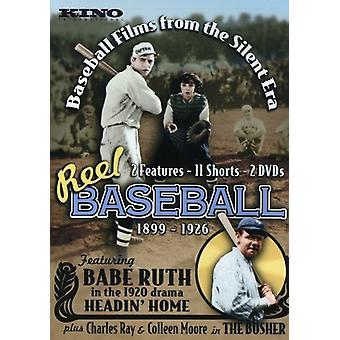 Reel Baseball-Baseball filmer från den tysta Era ([DVD] USA import