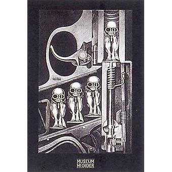 Birthmachine Poster Print by H R Giger (24 x 36)