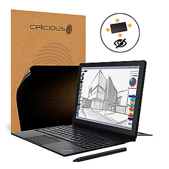 Celicious Privacy Plus Lenovo ThinkPad X1 Tablet (2nd Gen) 4-Way Visual Black Out Screen Protector