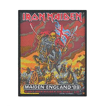 Iron Maiden Maiden England Woven Patch