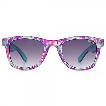 Miss KG Retro Style Sunglasses In Crystal Multi Marble