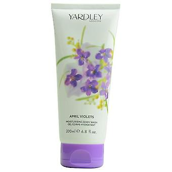 Yardley By Yardley April Violets Body Wash 6.8 Oz