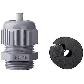 Cable gland with strain relief M25 Polyamide Blac