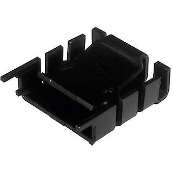 Heat sink 18 C/W (L x W x H) 25.4 x 25 x 8.5 mm TO 220 ASSMANN W