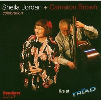 Sheila Jordan - Celebration-Live at Triad [CD] USA import