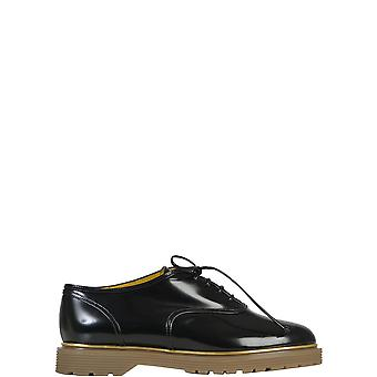 Charlotte Olympia women's F159476PCA001 Black patent leather lace-up shoes