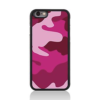 Call Candy Apple iPhone 7 Candy Camo 2D Printed Case-Shades of Pink