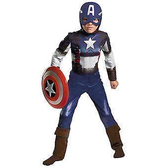 Captain America Avengers The Winter Soldier Marvel Superhero Boys Costume