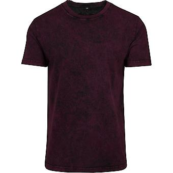 Build Your Brand Mens Acid Washed Tee
