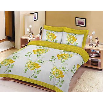 Floral Sketch Flowers Printed Duvet Cover BeddingAll Sizes