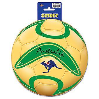 Australien fotboll Cutout
