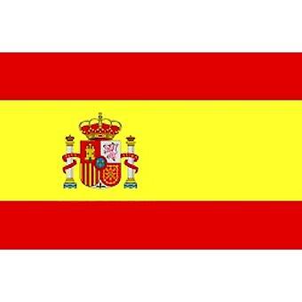 Bandiera Spagna/spagnolo con cresta 5 ft x 3 ft