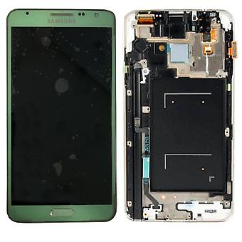 Display LCD complete set GH97-15540 C green for Samsung Galaxy touch 3 neo N7505