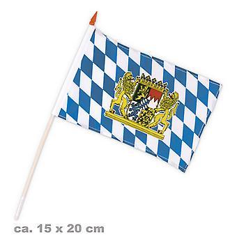 Bavaria flag 15x20cm Oktoberfest Bavaria party