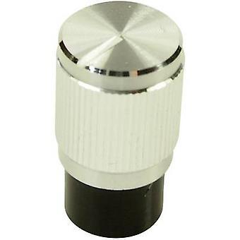 Cliff FC7258 Control knob Silver (Ø x H) 10.7 mm x 19 mm 1 pc(s)