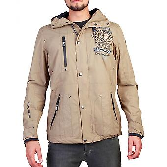 Geographical Norway Mens Beige Clement Jacket