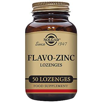 Solgar Flavo-Zinc 50 Lozenges (Vitamins & supplements , Minerals)