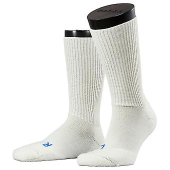 Falke Walkie Ergo Midcalf sokker - hvid