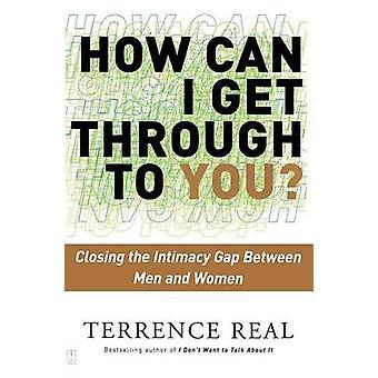 Hur kan jag få dig - klyftan intimitet mellan män en