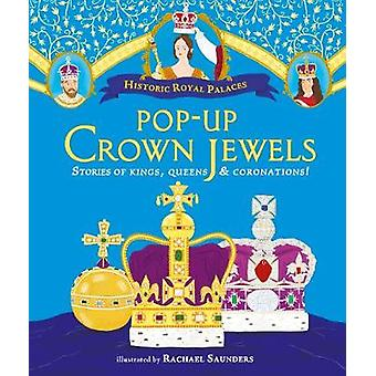 Pop-up Crown Jewels by Rachael Saunders - 9781406374094 Book