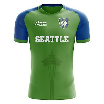 2019-2020 Seattle Home Concept Football Shirt - Kids