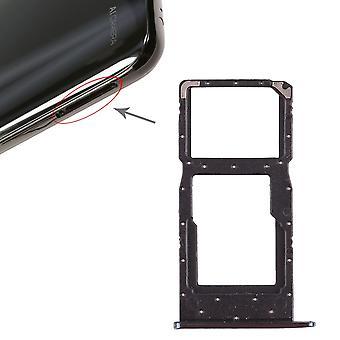 Huawei p smart 2019 kort stoppet SIM card brett lysbildeholderen blå reservedeler nye