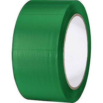 TOOLCRAFT 832450Ü-C PVC-Band grün (L x B) 33 m x 50 mm 1 Brötchen