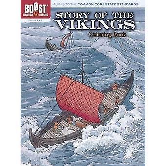 Geschichte der Wikinger Malbuch zu steigern