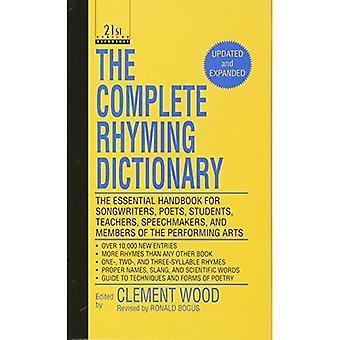 Le dictionnaire de rimes complet