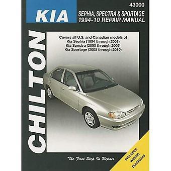 Kia Spectra/Sephia/Sportage Automotive Repair Manual: 1994-2010 (Haynes bilreparationer manualer)