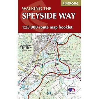 The Speyside Way Map Booklet: 1:25,000 OS Route Mapping