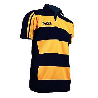 KOOGA teamwear hooped match shirt [yellow/black]