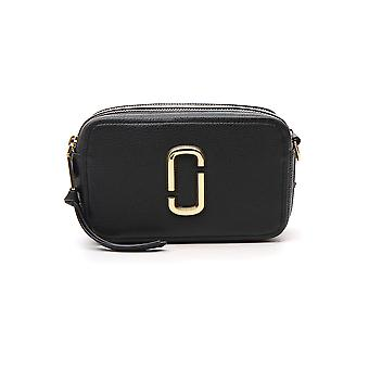 Marc Jacobs The Mj 21 Black Leather Shoulder Bag