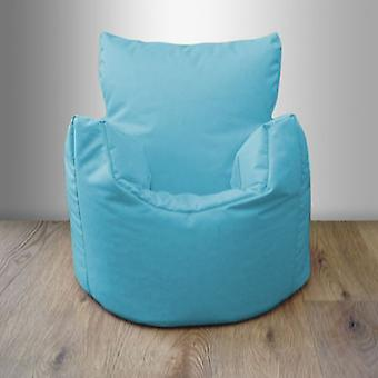 Toddler Water Resistant Bean Bag Chair - Turquoise