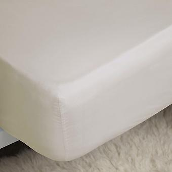 Belledorm 200 Thread Count Cotton Percale Deep Fitted Sheet