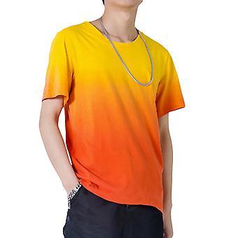 Allthemen's dégradé T-shirt à manches courtes