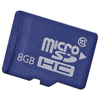 Hp 8gb micro sd em flash media kit class 10