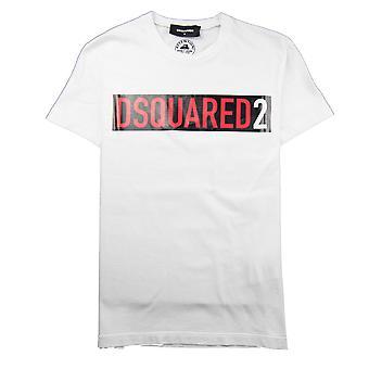 Dsquared2 Block Logo Tee White